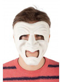 Белая трагическая маска