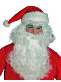 Борода и парик Санта Клауса