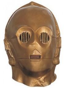Бронзовая маска Три-пи-о из фильма Звездные войны