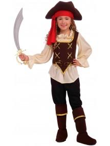 Брючный костюм пиратки морей для девочки