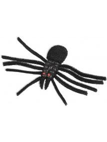 Бутафорский паук с красными глазами
