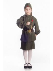 Детский костюм Девочки солдата