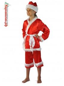 Детский костюм Санты Клауса