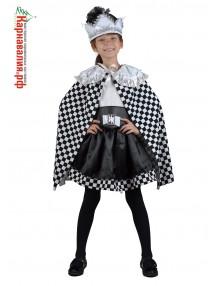 Детский костюм шахматной королевы Премиум