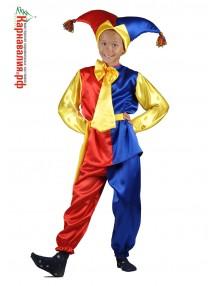 Детский костюм скомороха на Масленицу