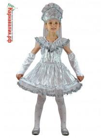Детский костюм снежинка королевская