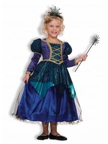 Детский костюм ведьмочки-принцессы
