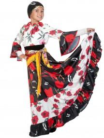 Длинный костюм Цыганочки детский