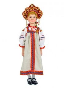 Фольклорный костюм для девочки