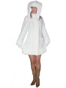Карнавальный костюм белой Зайчихи девушке