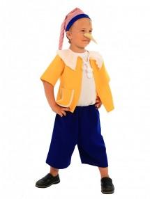 Карнавальный костюм Буратино в желтом