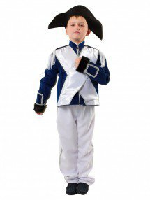 Карнавальный костюм французского офицера