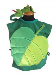 Карнавальный костюм летний листок