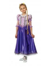 Карнавальный костюм принцессы Рапунцель