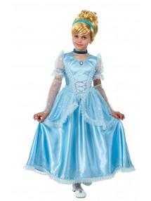 Карнавальный костюм принцессы Золушки атлас