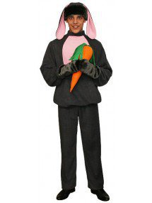 Карнавальный костюм Серый Заяц мужской