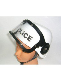 Каска с надписью police