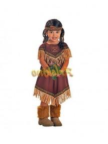 Костюм принцессы индейцев детский