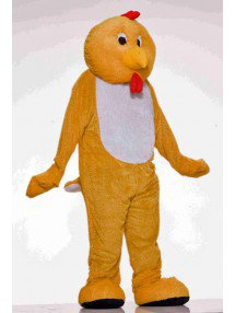 Костюм-талисман цыплёнка