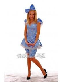 Голубой костюм Мальвины для взрослых