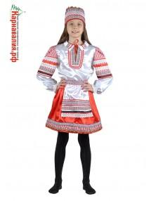 Костюм белорусской девочки