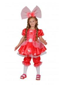 Костюм красной куклы для девочки
