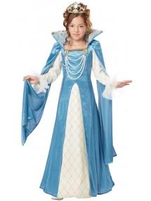 Костюм Маленькая королева эпохи ренессанс детский