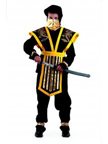 Костюм мастер-ниндзя желтый