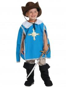 Костюм мушкетера синий детский