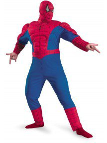 Костюм мускулистого Человека Паука