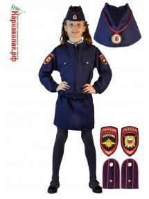 Костюм полицейский для девочки