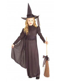 Костюм Ведьма в длинном платье детский