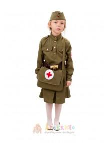 Костюм военной помощницы медсестры
