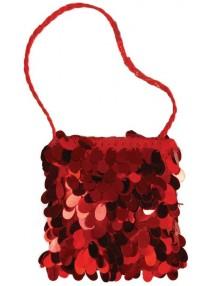Красная сумочка в стиле Чикаго