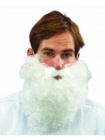 Кудрявая борода Санты