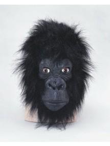 Маска горилы с закрытым ртом