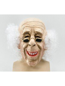 Маска Старик с волосами