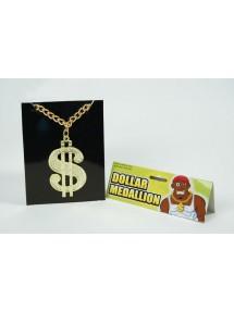 Медальон Доллар на цепи