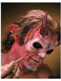 Накладные уши красного дьявола