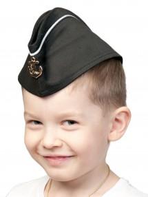 Пилотка ВМФ с кантом детская