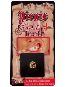 Пиратский золотой зуб