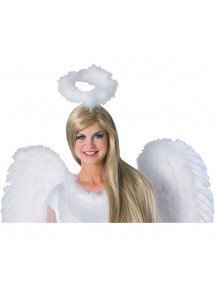 Пушистый белый нимб ангела