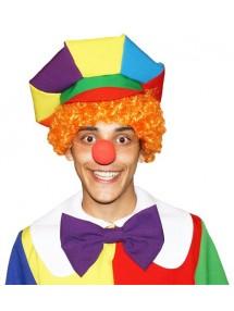 Рыжий парик запоминающегося клоуна