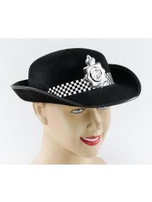 Шляпа Леди-полицейский черная