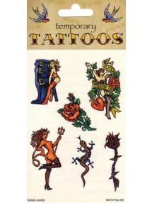 Татуировки с женщинами 6 листов