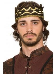 Тканевая королевская корона