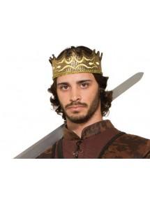 Тканевая средневековая корона