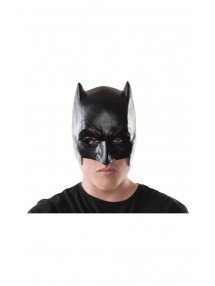 Взрослая маска Бэтмена на пол лица