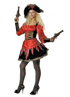 Костюм пиратка огненная фото