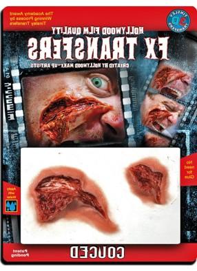 3-D рана на лицо